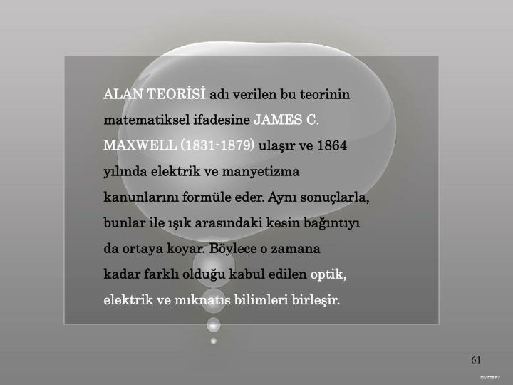 ALAN TEORİSİ