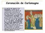 coronaci n de carlomagno
