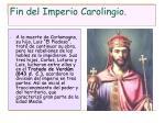 fin del imperio carolingio