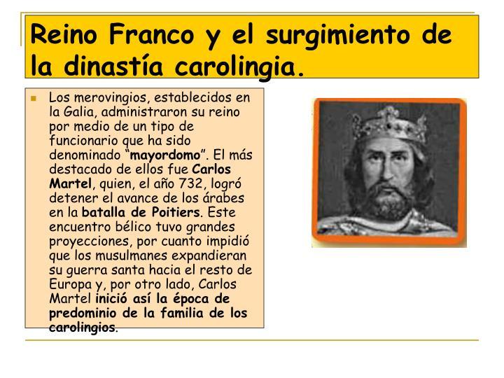 """Los merovingios, establecidos en la Galia, administraron su reino por medio de un tipo de funcionario que ha sido denominado """""""