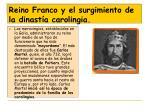 reino franco y el surgimiento de la dinast a carolingia