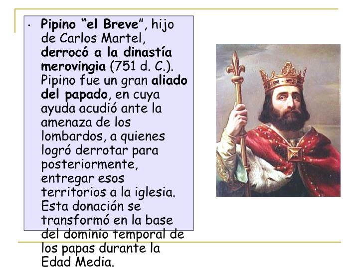 """Pipino """"el Breve"""