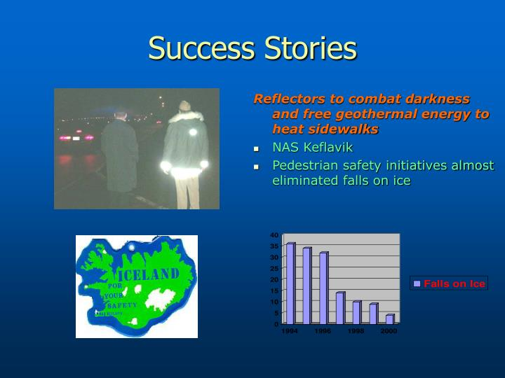 Reflectors to combat darkness and free geothermal energy to heat sidewalks
