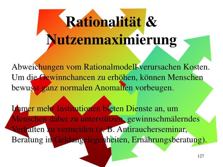 Rationalität &