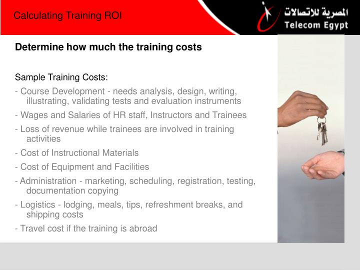Calculating Training ROI