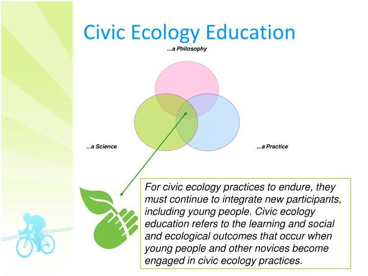 Civic Ecology Education
