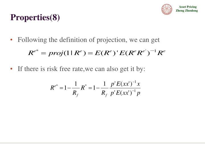 Properties(8)