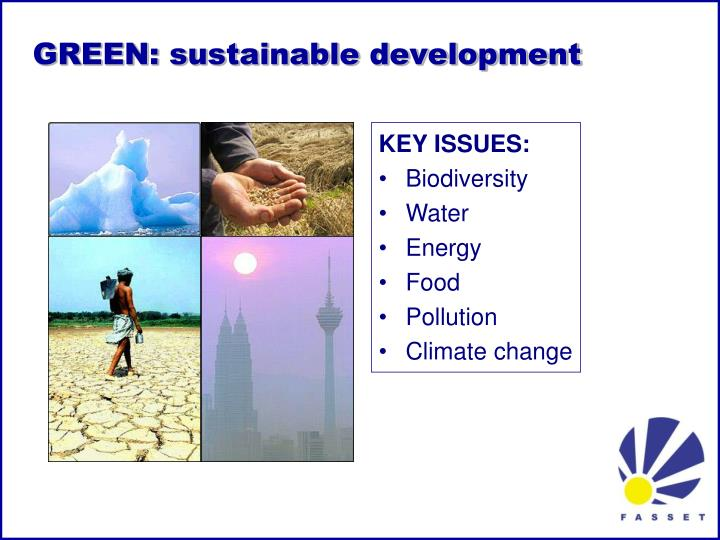 GREEN: sustainable development
