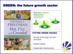 green the future growth sector