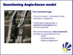 questioning anglo saxon model2