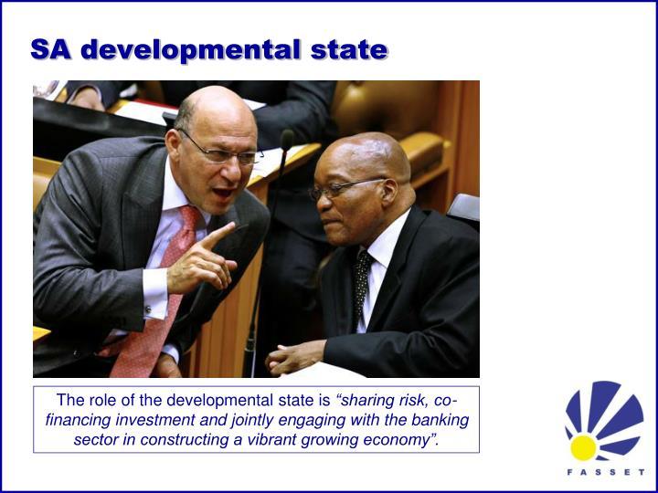 SA developmental state