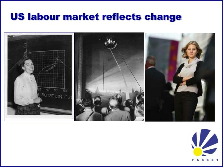 US labour market reflects change