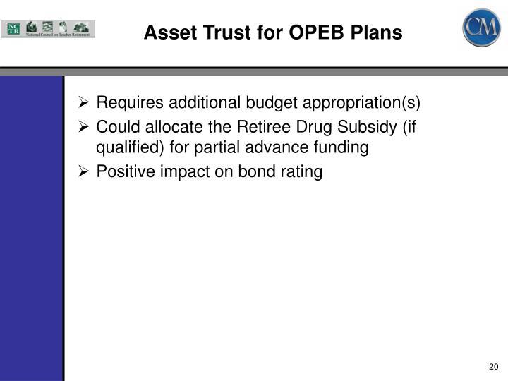 Asset Trust for OPEB Plans
