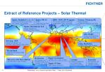 extract of reference projects solar thermal