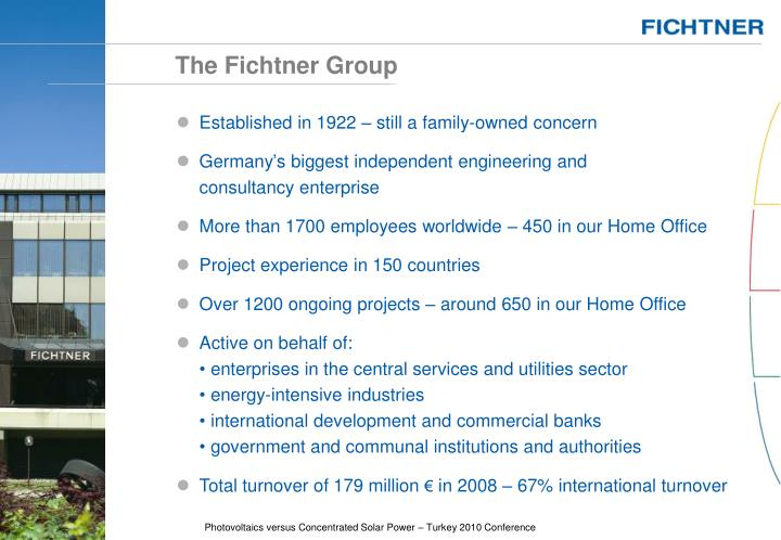 The fichtner group
