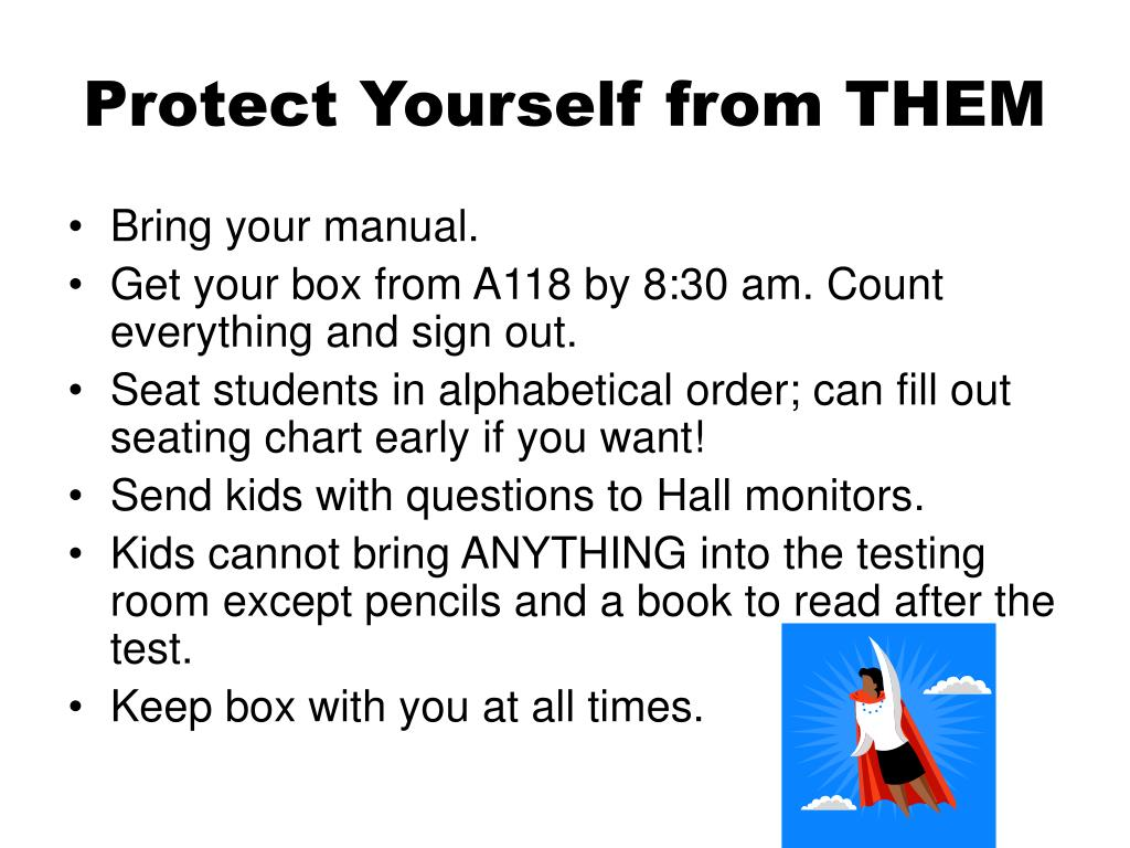 Protect Yourself from THEM