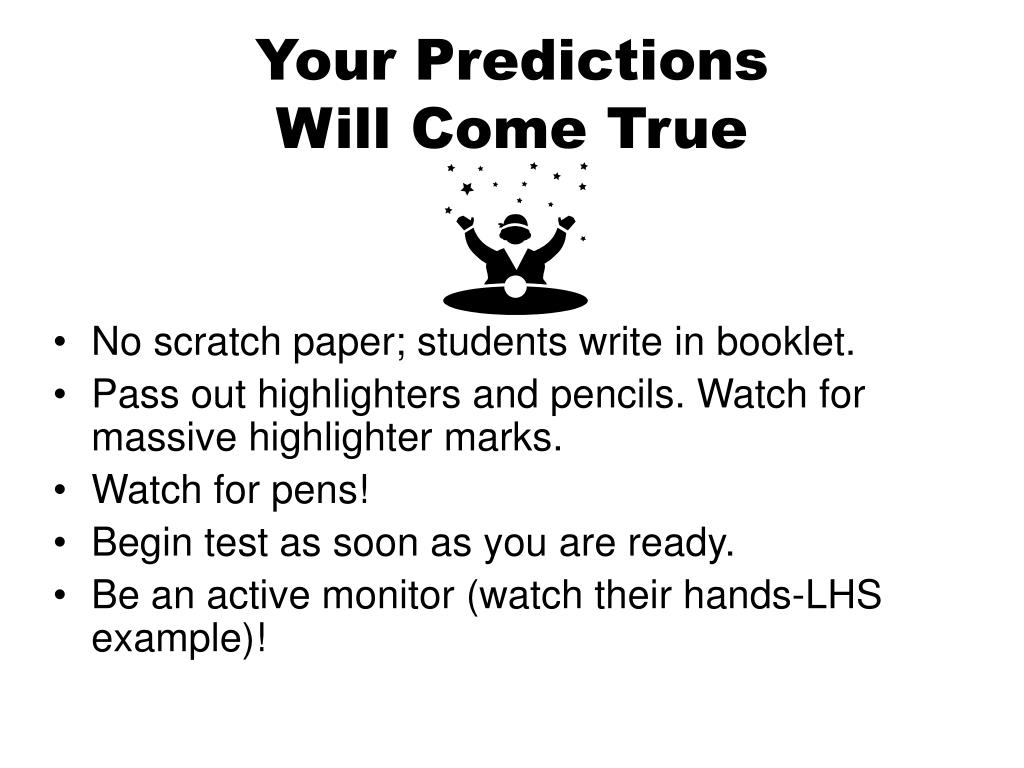 Your Predictions