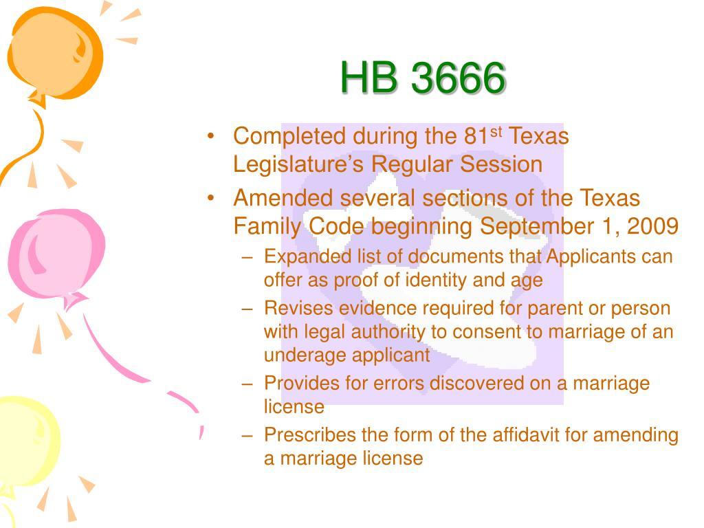 HB 3666