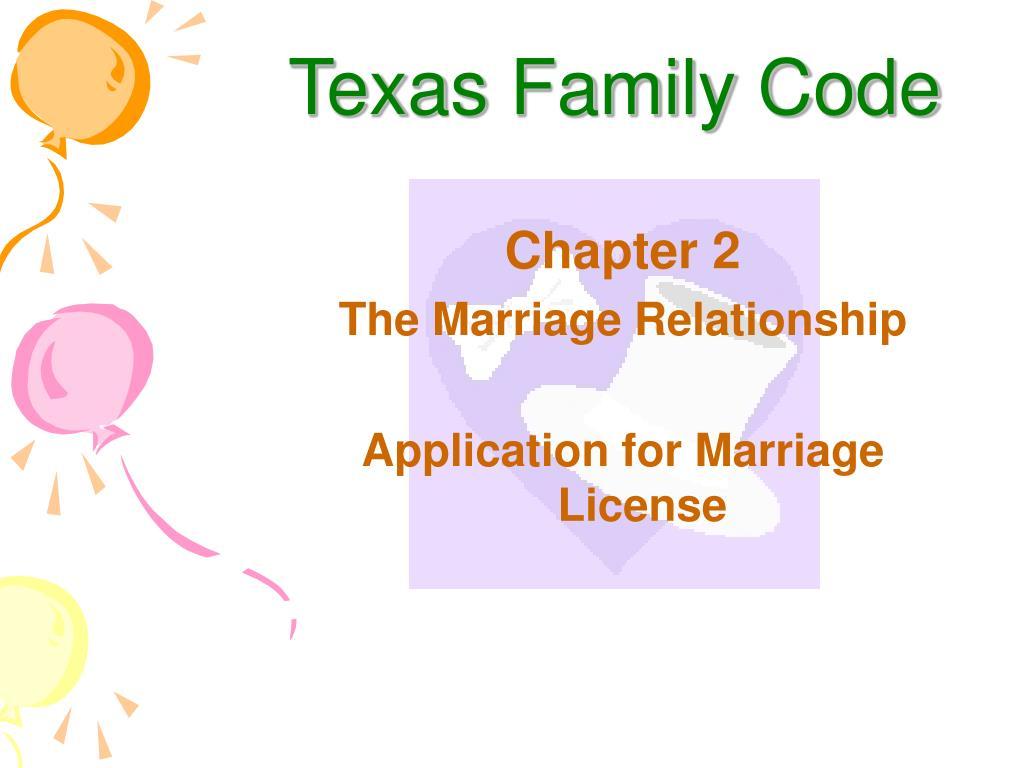 Texas Family Code