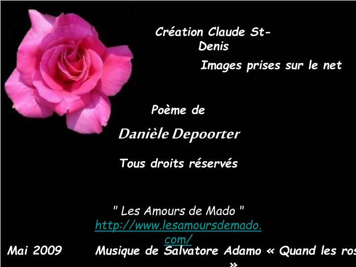 Création Claude St-Denis