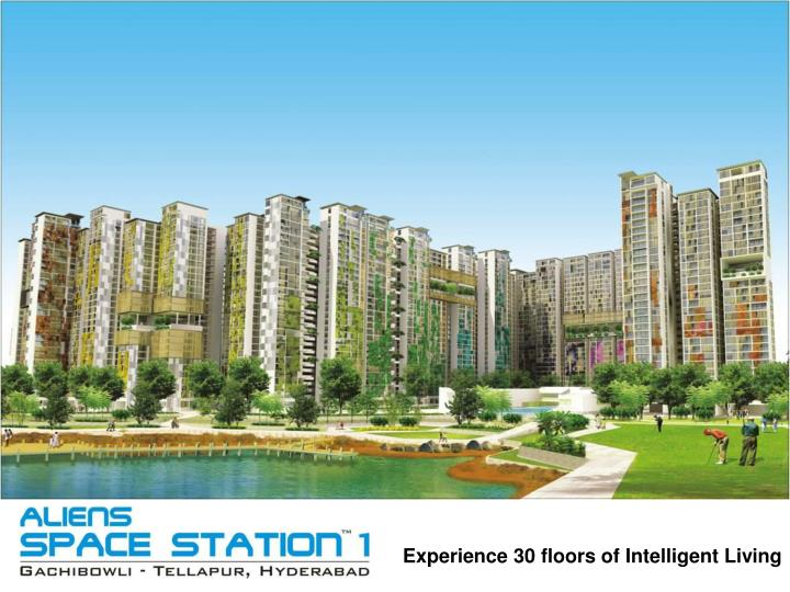 experience 30 floors of intelligent living