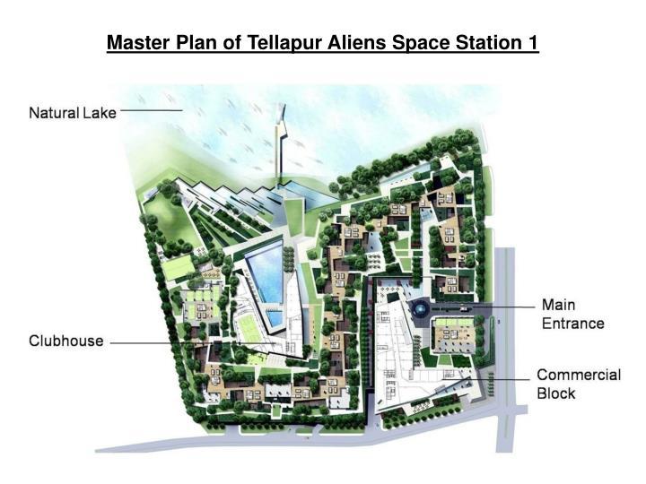 Master Plan of Tellapur Aliens Space Station 1
