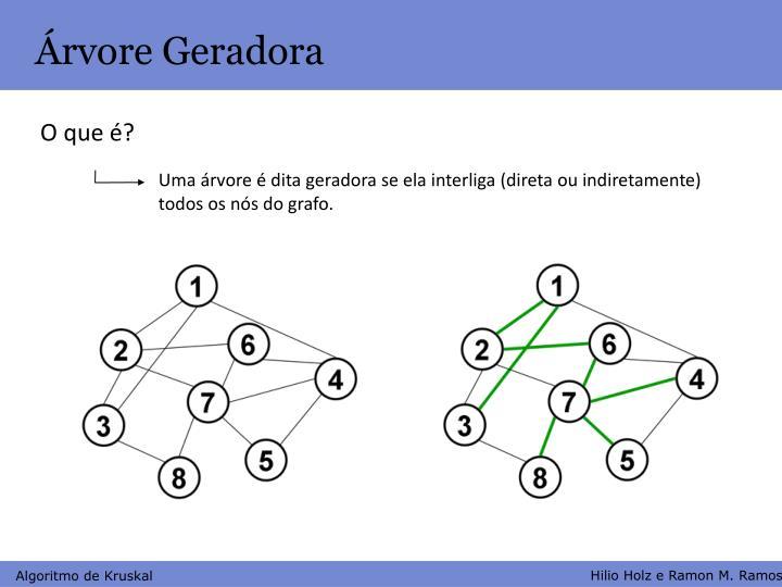 Árvore Geradora