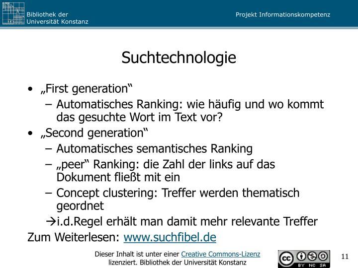 Suchtechnologie