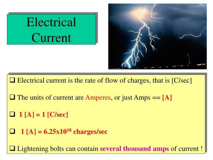 Electrical Current