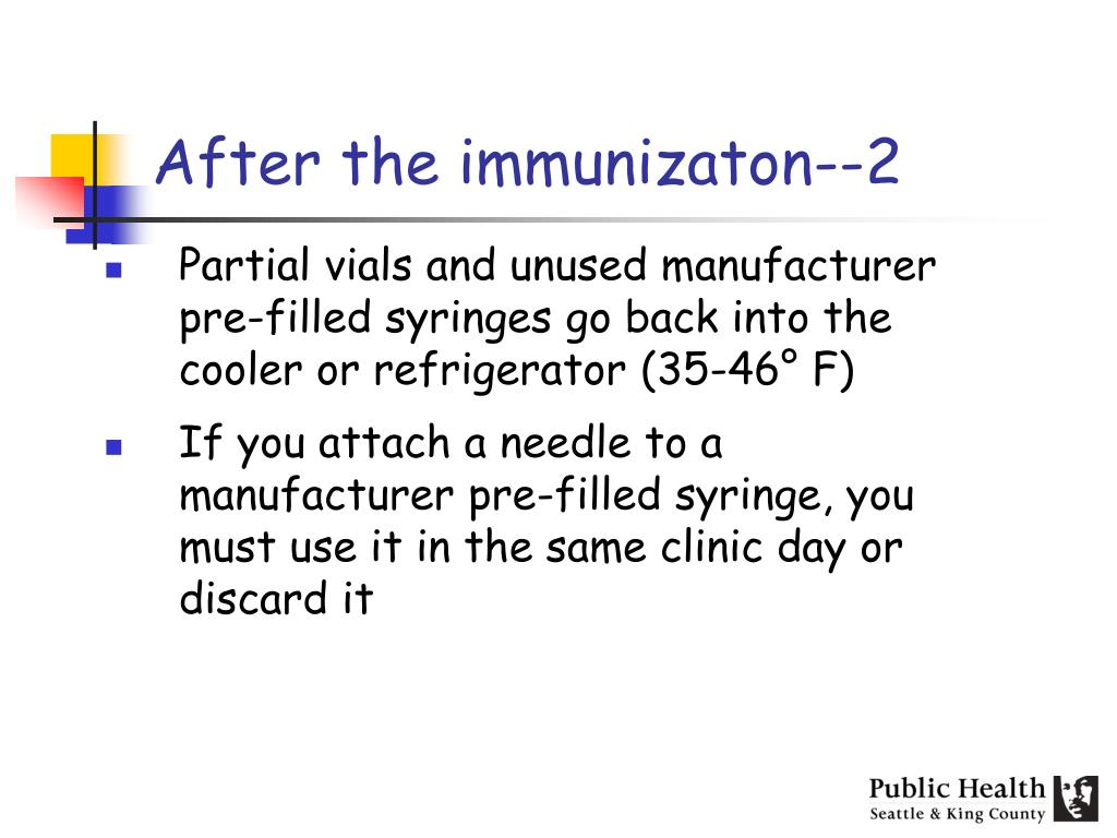 After the immunizaton--2