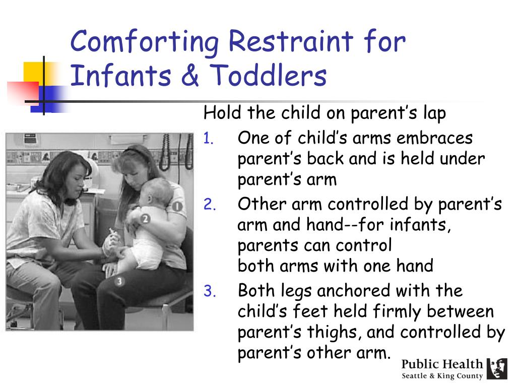 Comforting Restraint for Infants & Toddlers