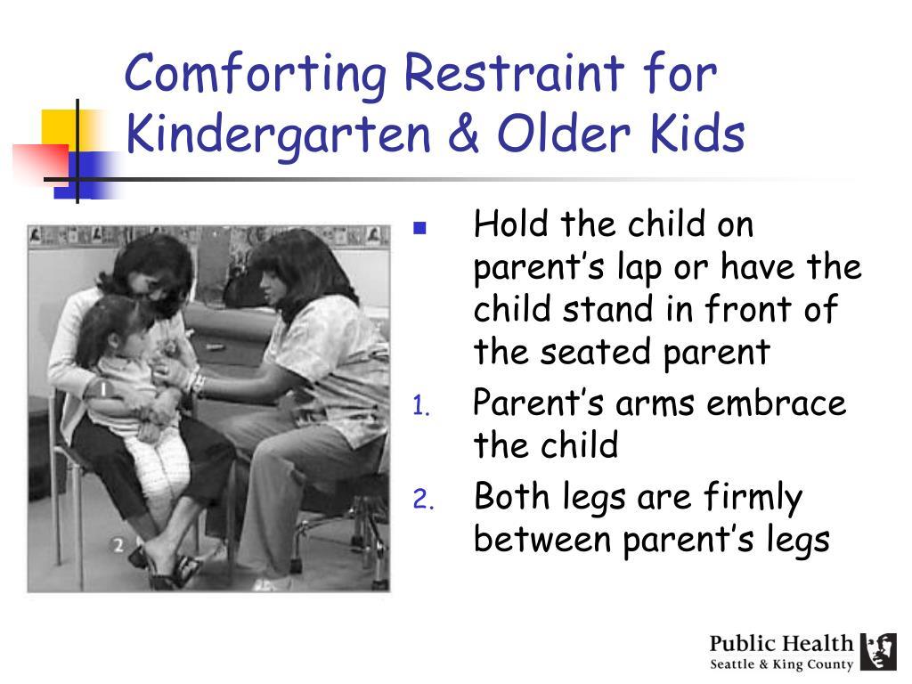 Comforting Restraint for Kindergarten & Older Kids