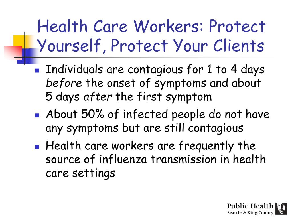 Health Care Workers: Protect Yourself, Protect Your Clients