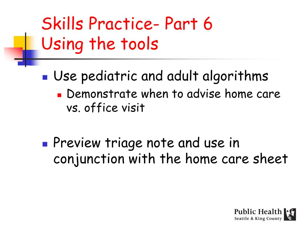 Skills Practice- Part 6