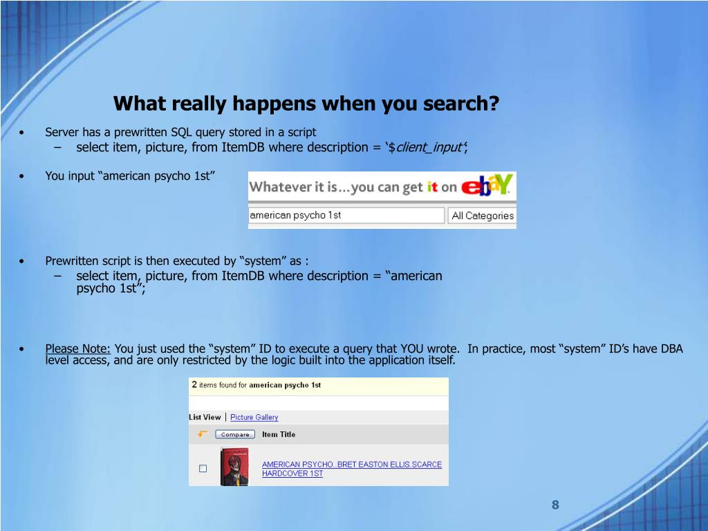 What really happens when you search?