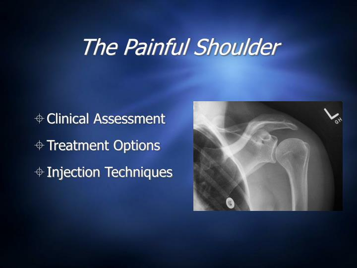 The painful shoulder