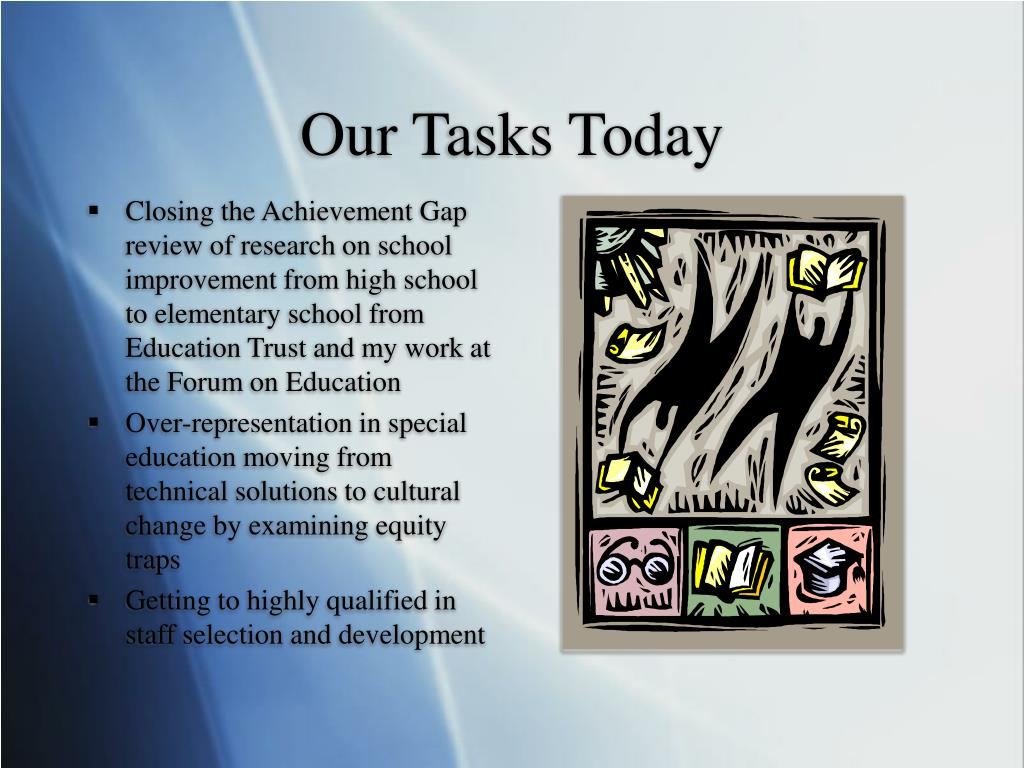 Our Tasks Today
