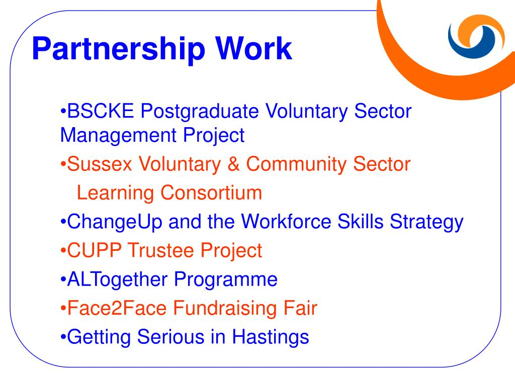Partnership Work