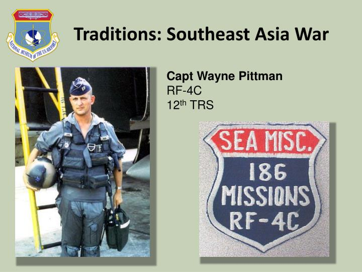 Traditions: Southeast Asia War