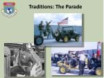 traditions the parade2