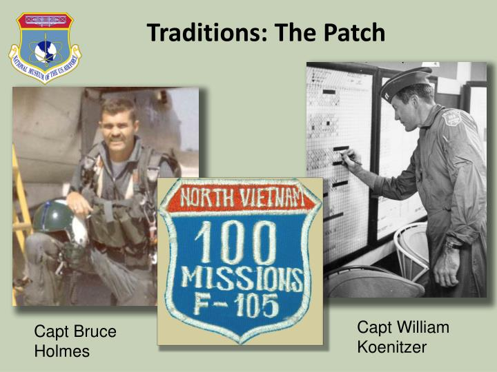 Traditions: The Patch