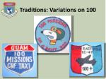 traditions variations on 1001