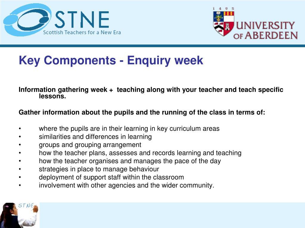 Key Components -
