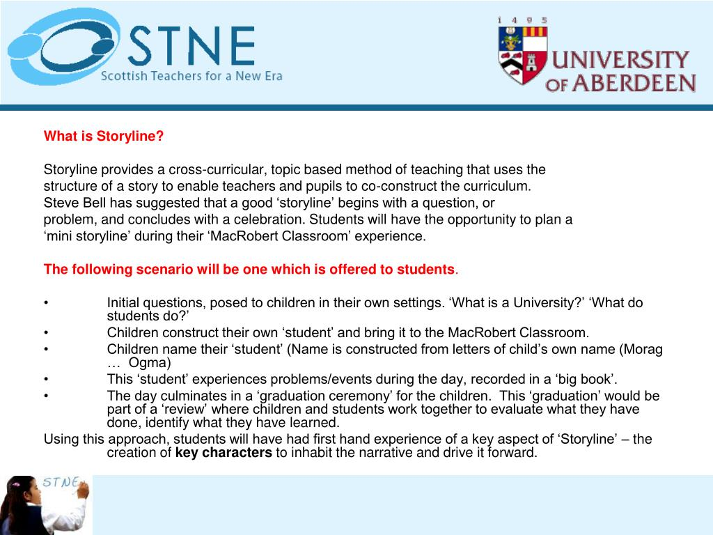 What is Storyline?
