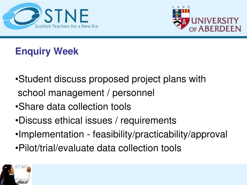 Enquiry Week