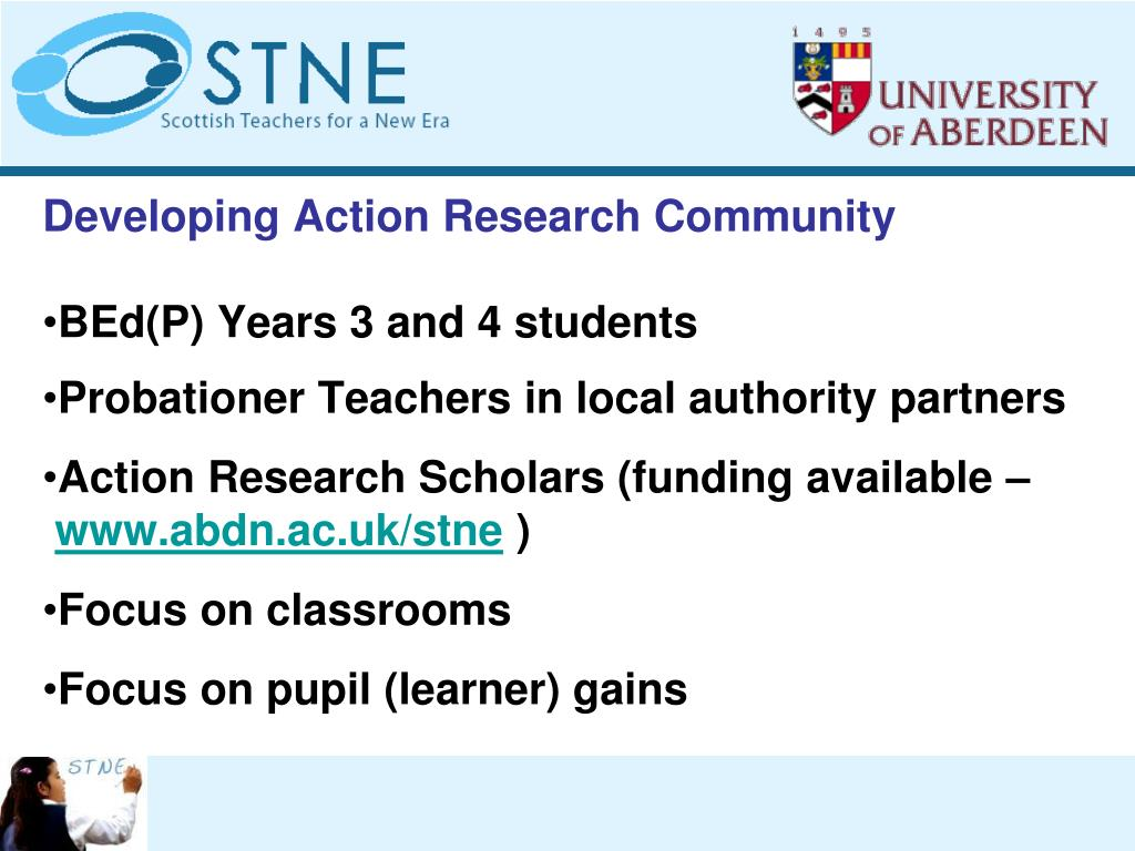 Developing Action Research Community