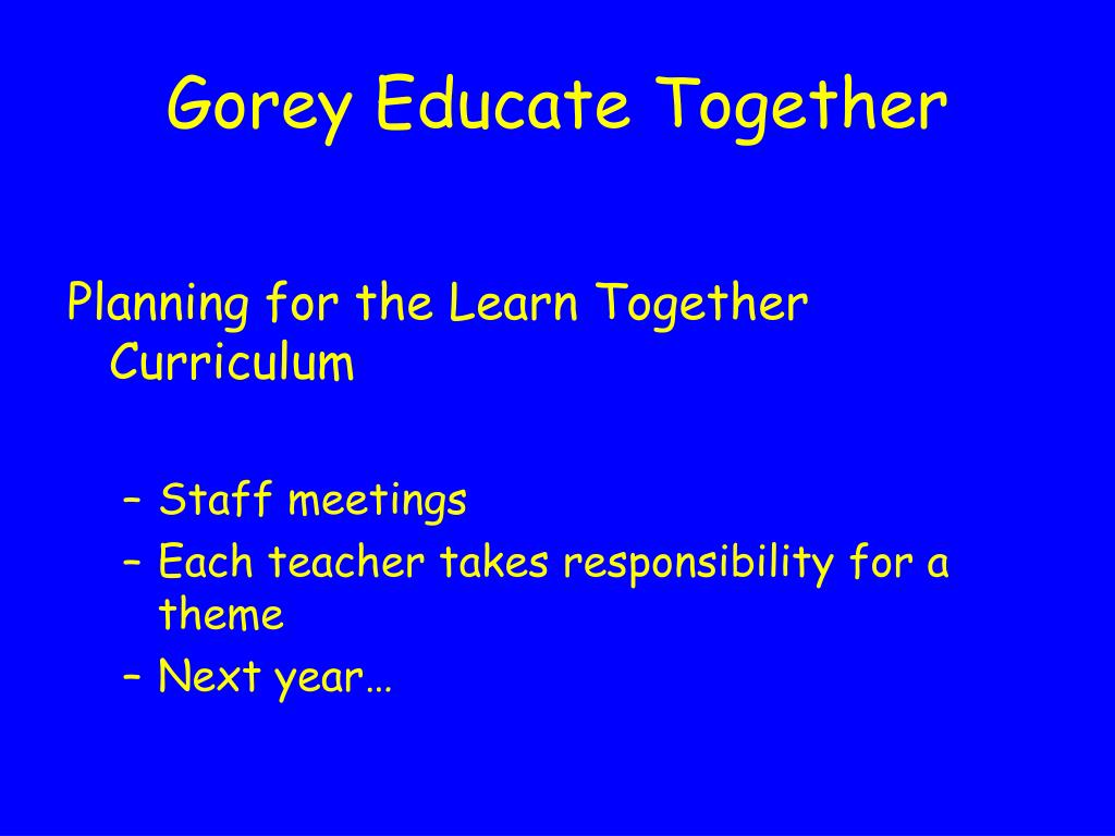 Gorey Educate Together