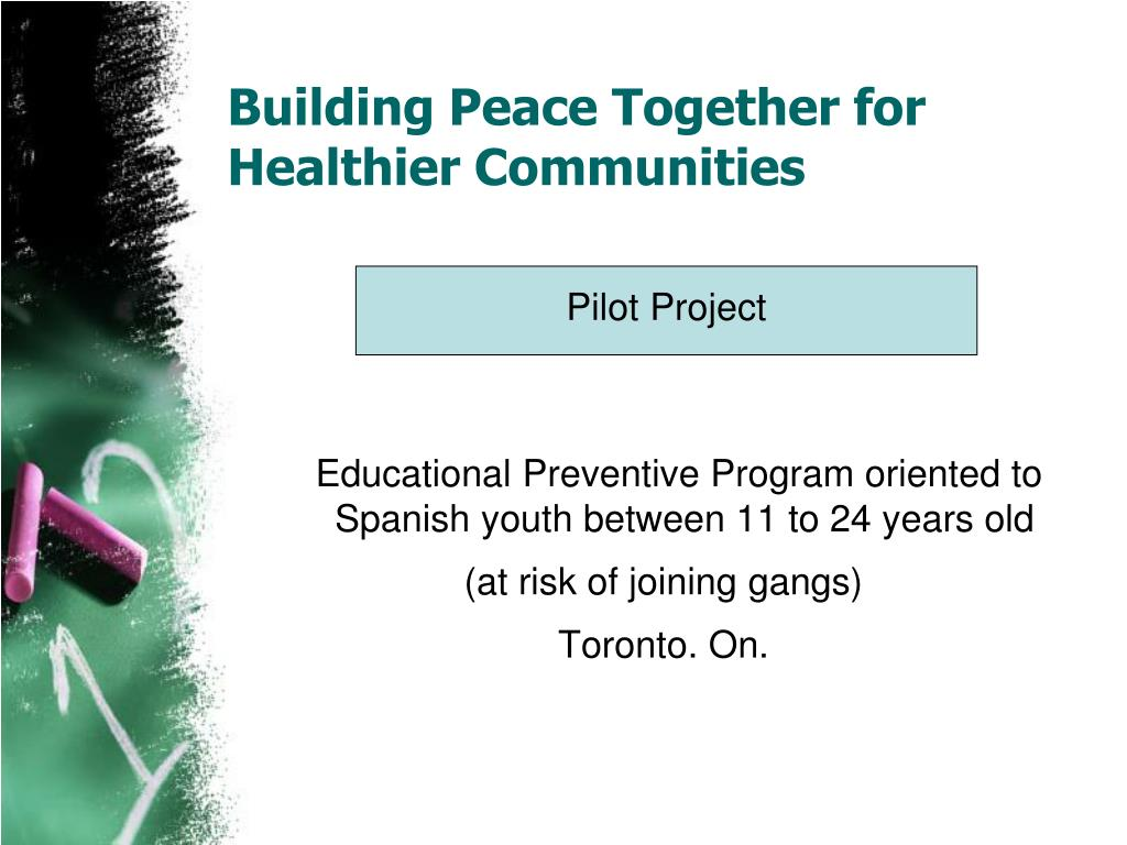 Building Peace Together for Healthier Communities