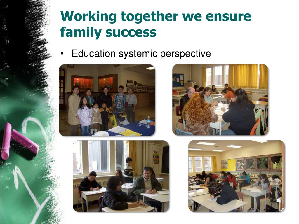 Working together we ensure family success