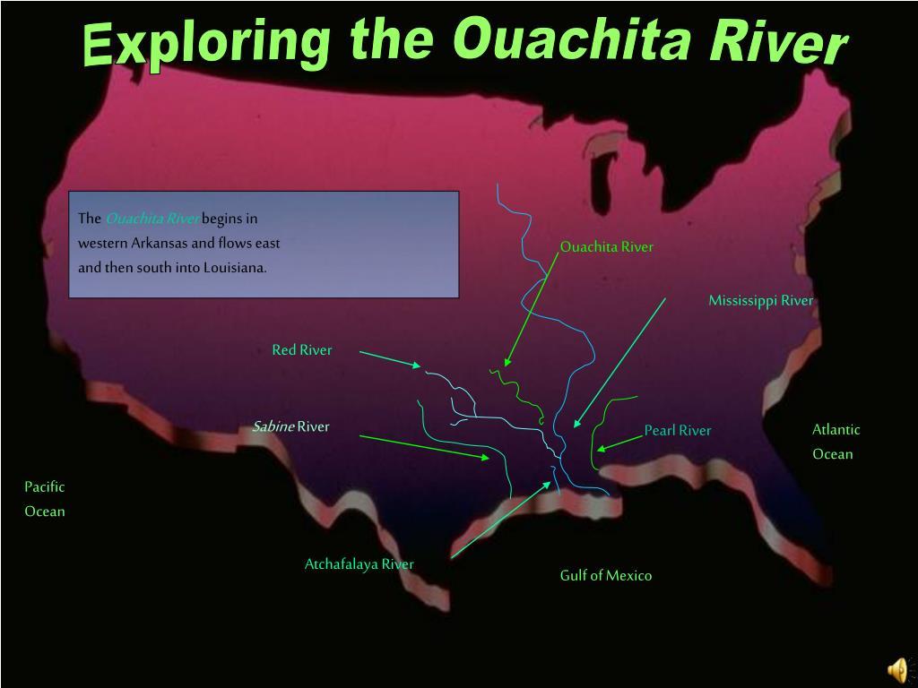 Exploring the Ouachita River